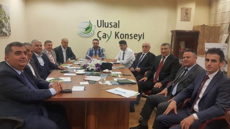 Bakanlık Heyeti İle Müşterek Yönetim Kurulu toplantısı